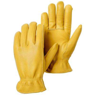 Goatskin Drivers Size 8 Tan Leather Gloves