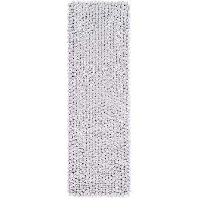 Bricen Light Gray 3 ft. x 8 ft. Runner Rug