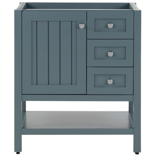 Lanceton 30 in. W x 22 in. D x 34 in. H Bath Vanity Cabinet Only in Sage