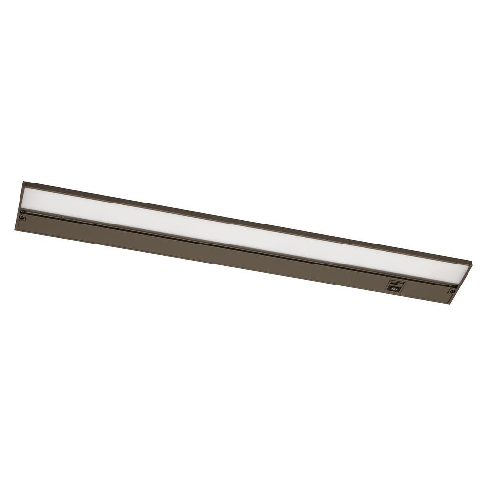 Koren 22 in. LED Rubbed Bronze Under Cabinet Light