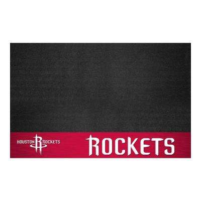 Houston Rockets 26 in. x 42 in. Grill Mat