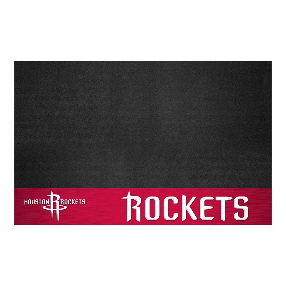 Houston Rockets 26 in. x 42 in. Grill Mat