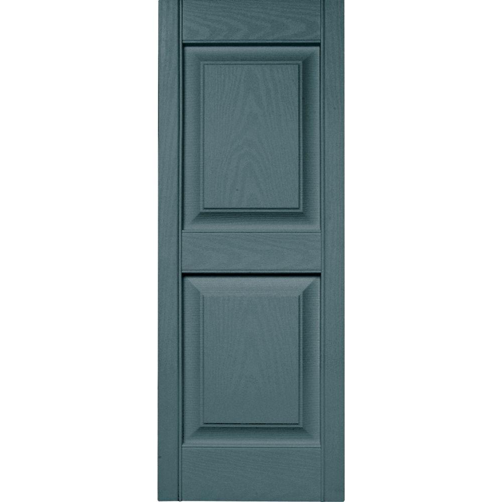 builders edge 15 in x 39 in raised panel vinyl exterior