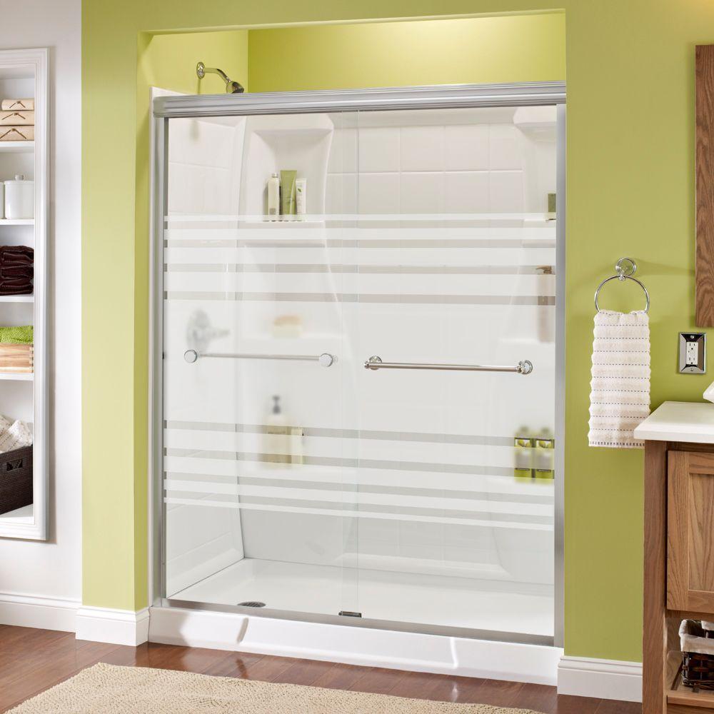 Delta Shower Doors Showers The Home Depot