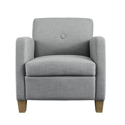 Reyes Dove Gray Accent Chair
