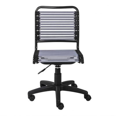 HomeRoots Amelia Light Gray Low Back Office/Desk Chair
