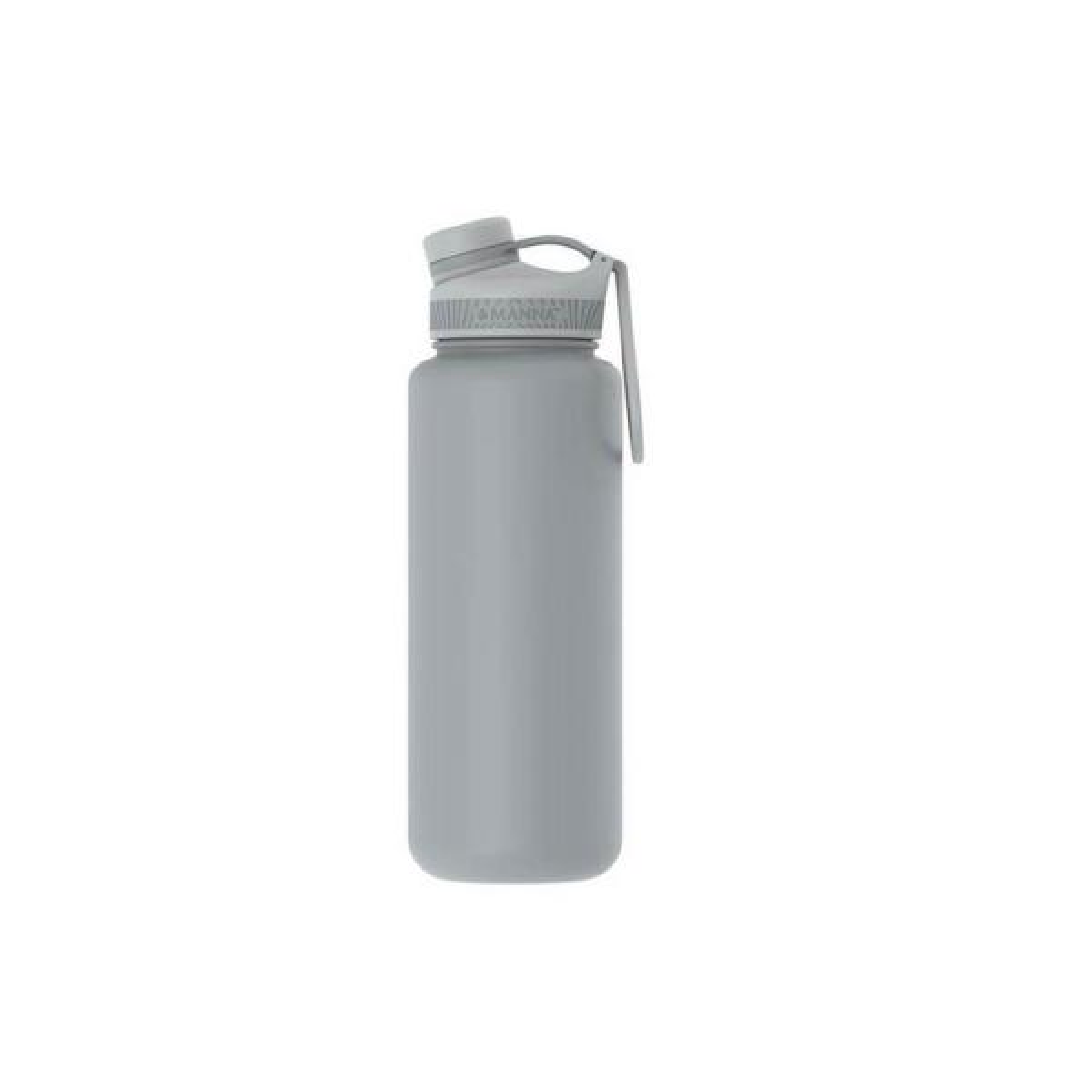 1c3ab2693d Manna Ranger Pro 40 oz. Light Grey Vacuum Insulated Stainless Steel Bottle