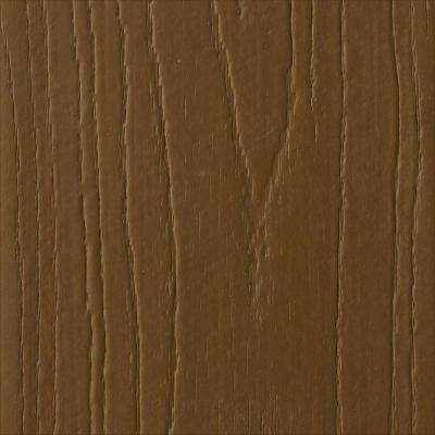Pro 1 in. x 5-3/8 in. x 16 ft. Brazilian Chestnut Square Edge Capped Composite Decking Board (10-Pack)