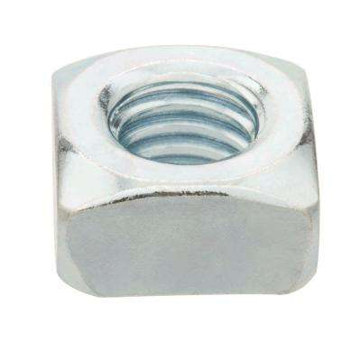 1/4 in.-20 Zinc-Plated Coarse Thread Square Nuts (2-Pieces)