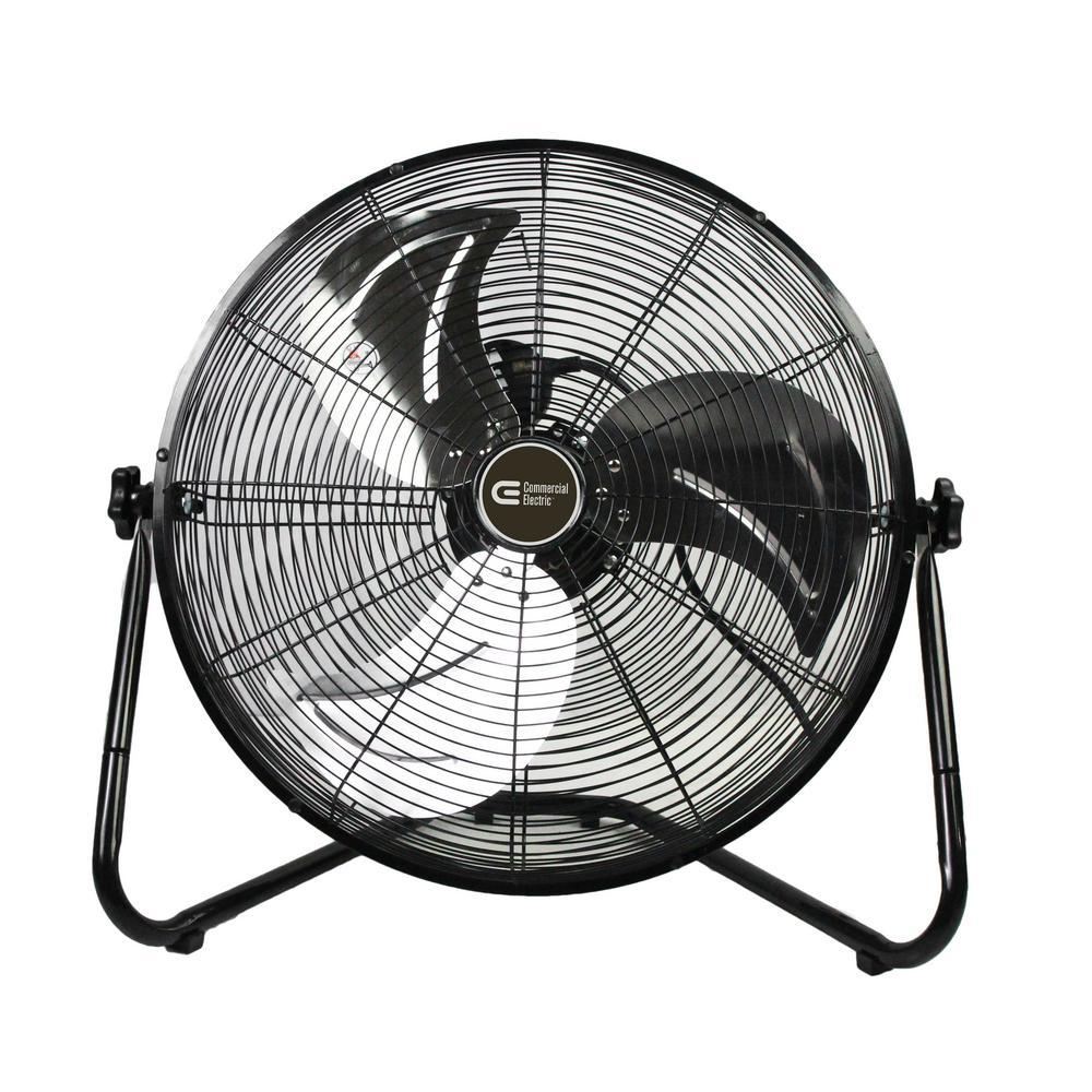 Commercial Electric 20 in. 3 Speed Floor Fan
