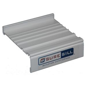 Suresill 4 1 8 In White Sloped Sill Pan Extension