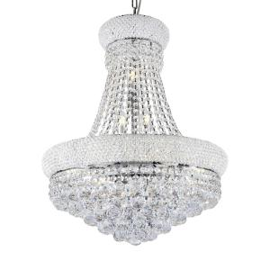 Click here to buy  26 inch Adagio Empire Clear Crystal 12-Integrated LED 8-Watt Light Chrome Chandelier.