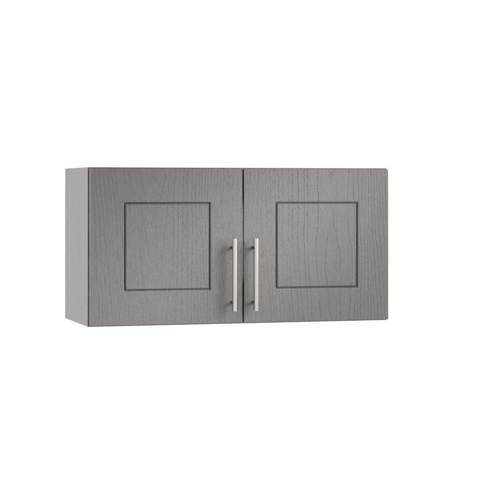 Assembled 30x15x12 in. Palm Beach Open Back Outdoor Kitchen Wall Cabinet