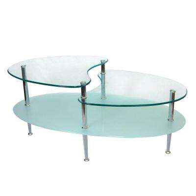 Mariner Glass Storage Coffee Table