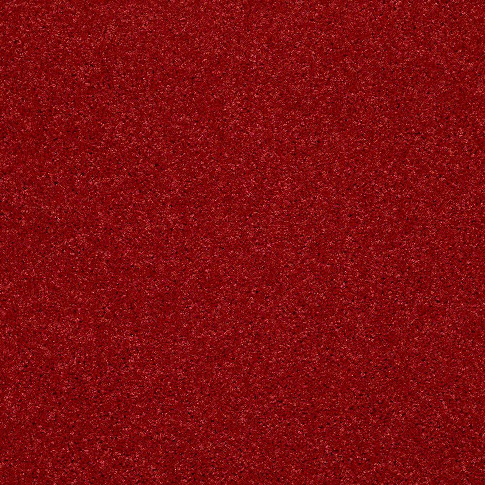 Watercolors II - Color Cherry Texture 12 ft. Carpet
