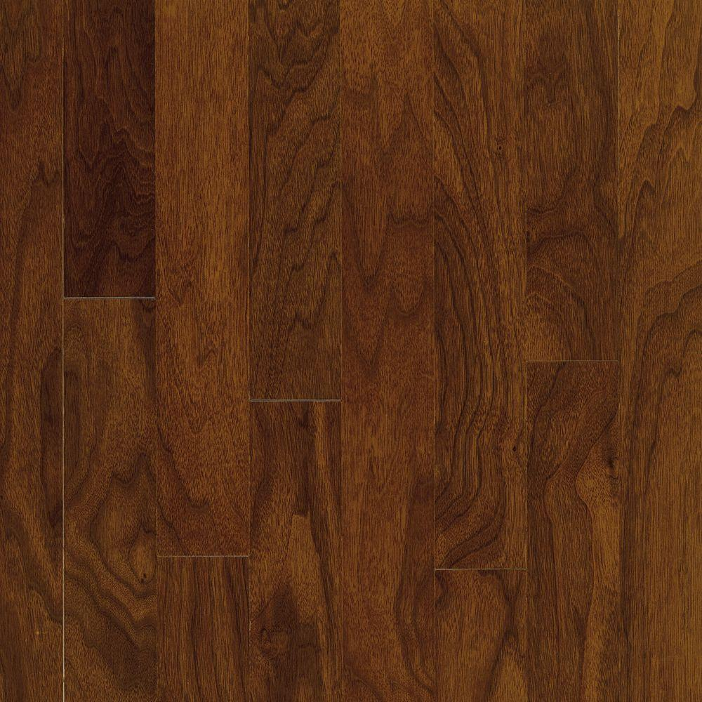 Bruce town hall exotics walnut autumn brown 3 8 in t x 5 for Walnut hardwood flooring