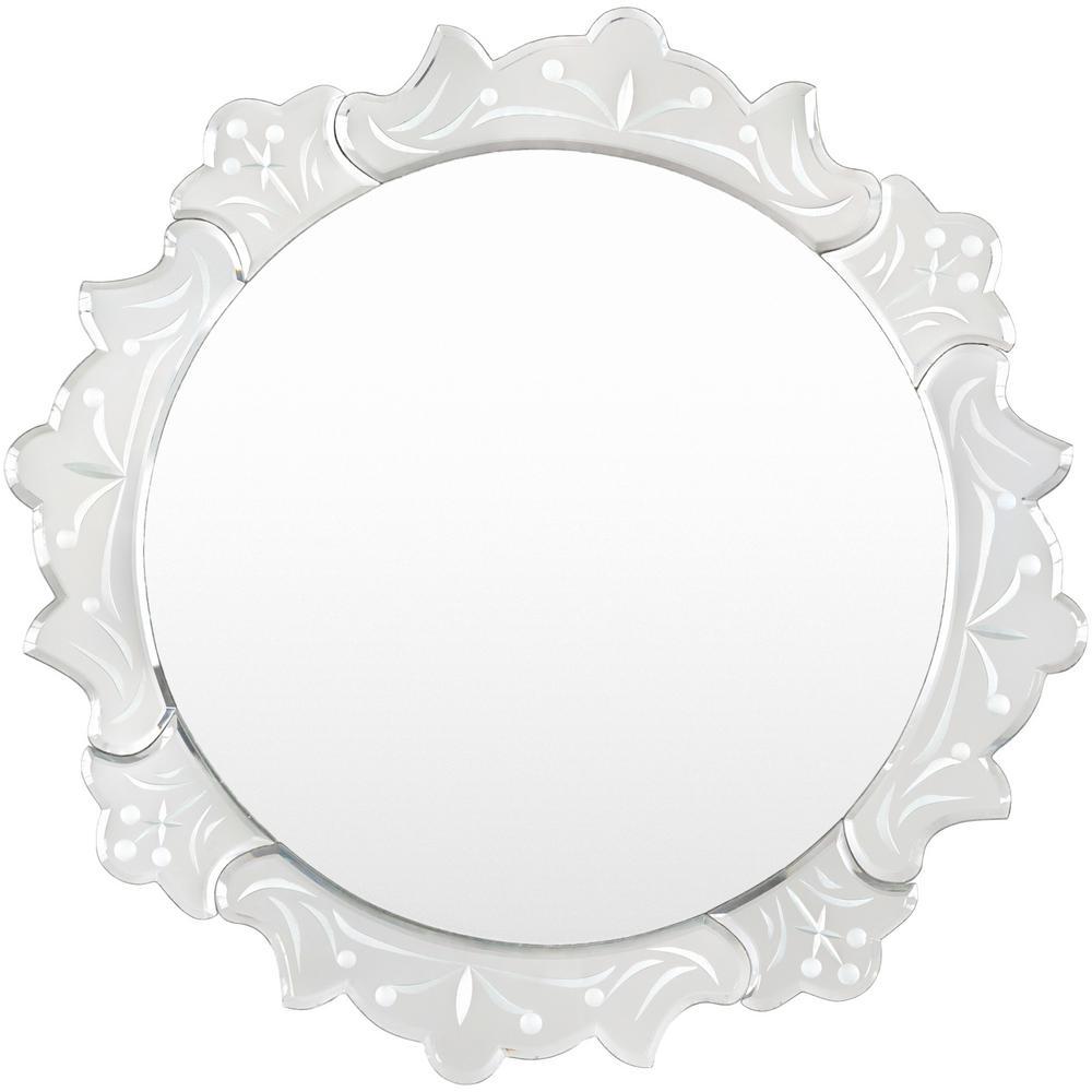 Zula 19.7 in. x 19.7 in. Mirror Framed Mirror