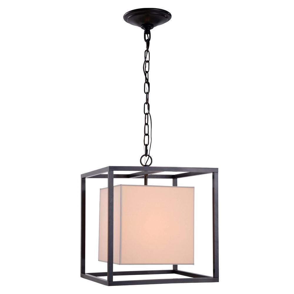 Quincy 1-Light Bronze Pendant