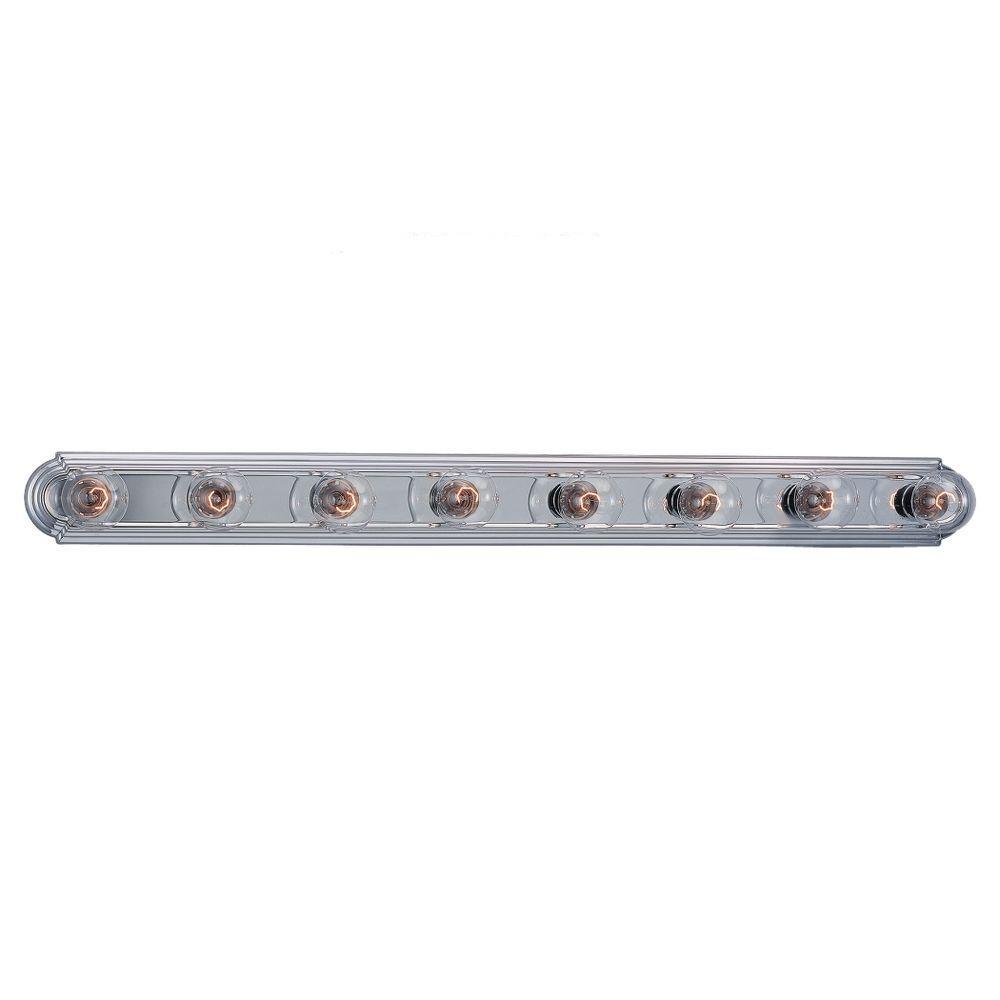 Sea Gull Lighting De-Lovely 8-Light Chrome Bar Vanity Fixture