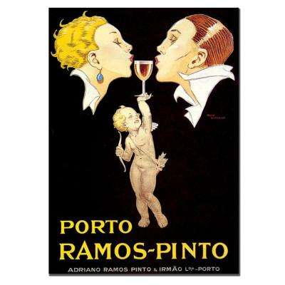 35 in. x 47 in. Porto Ramos Pinto by Rene Vincent Canvas Art