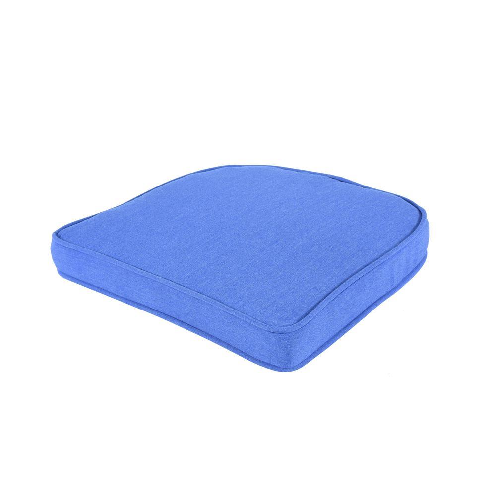 Pacifica Premium Lapis Double Welt Wicker Seat Cushion