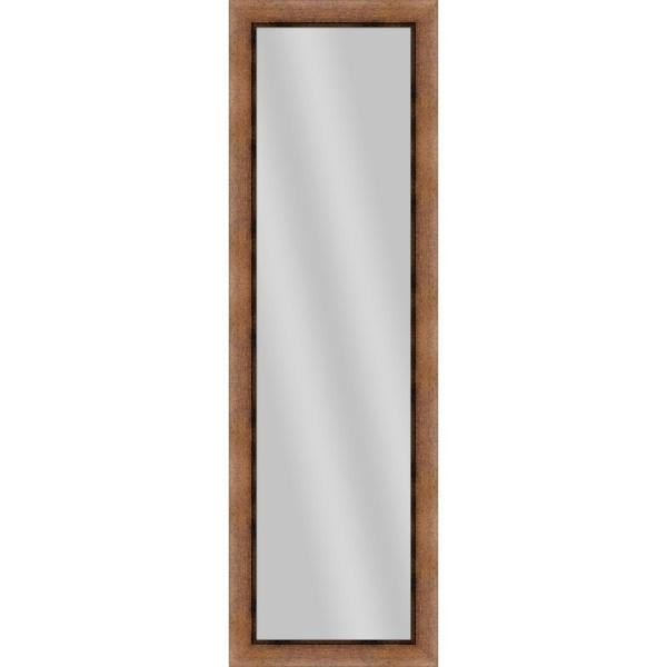 Large Rectangle Gold Art Deco Mirror (52.25 in. H x 16.25 in. W)