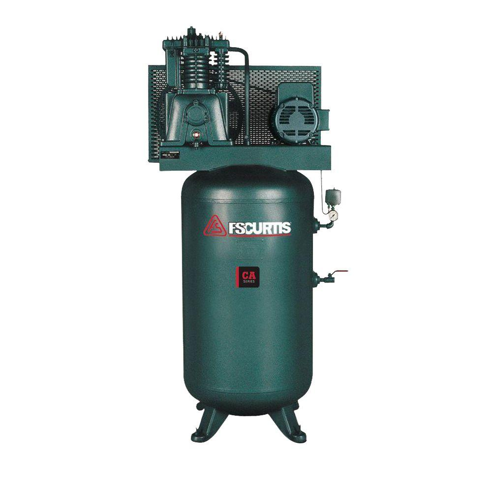 80 Gal. 5 HP 230-Volt 3-Phase Electric Air Compressor