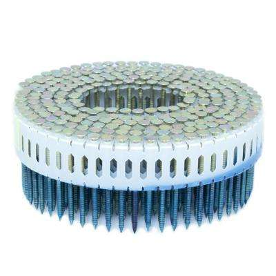 1.75 in. x 0.086 in. 0-Degree Ring Galvanized Plastic Sheet Coil Nail 4,000 per Box