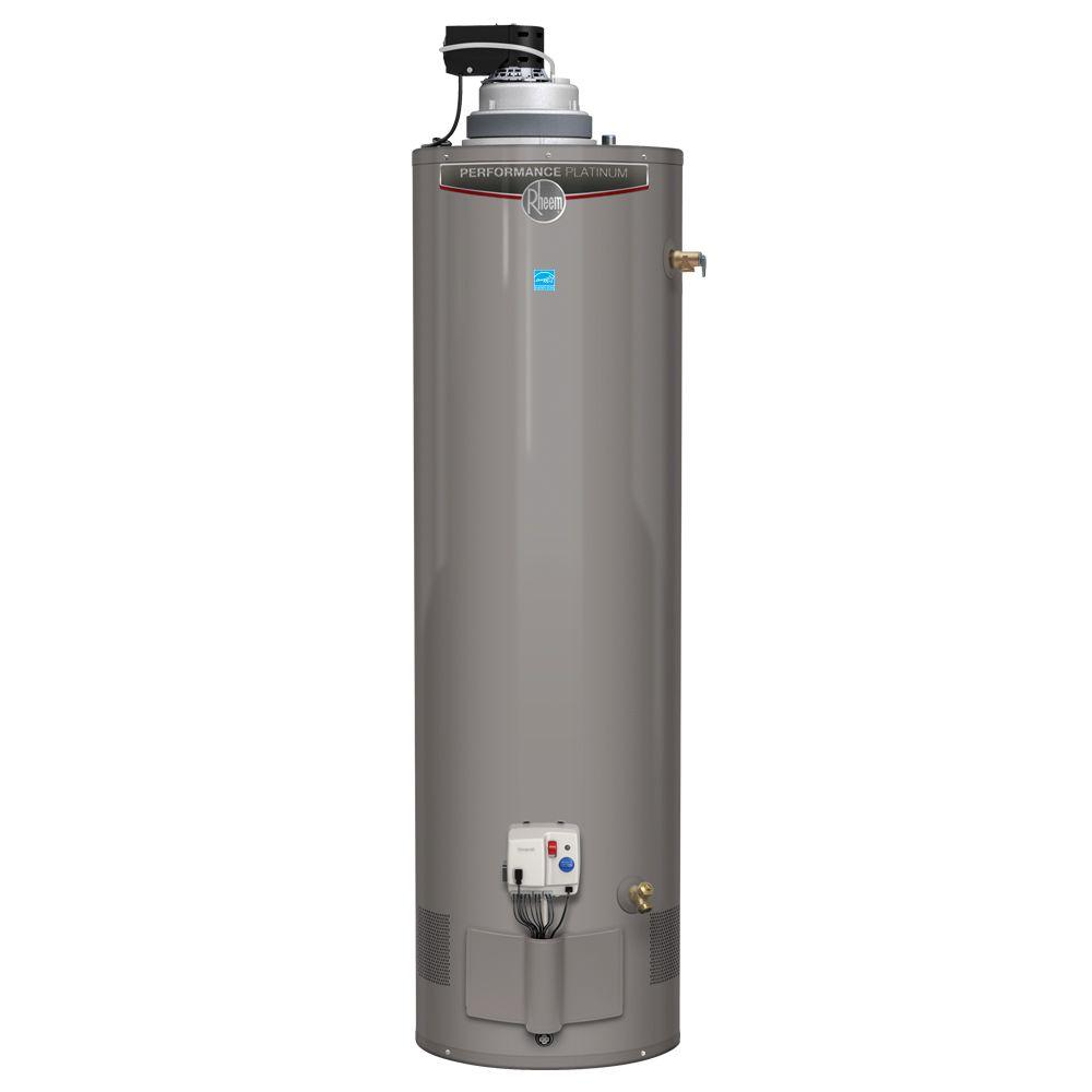 Rheem performance platinum xr90 29 gal tall 12 year Natural gas water heater