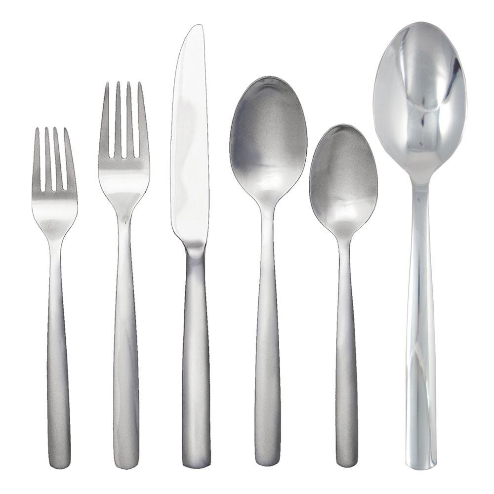 Ginkgo Simple 42-Piece Service for 8