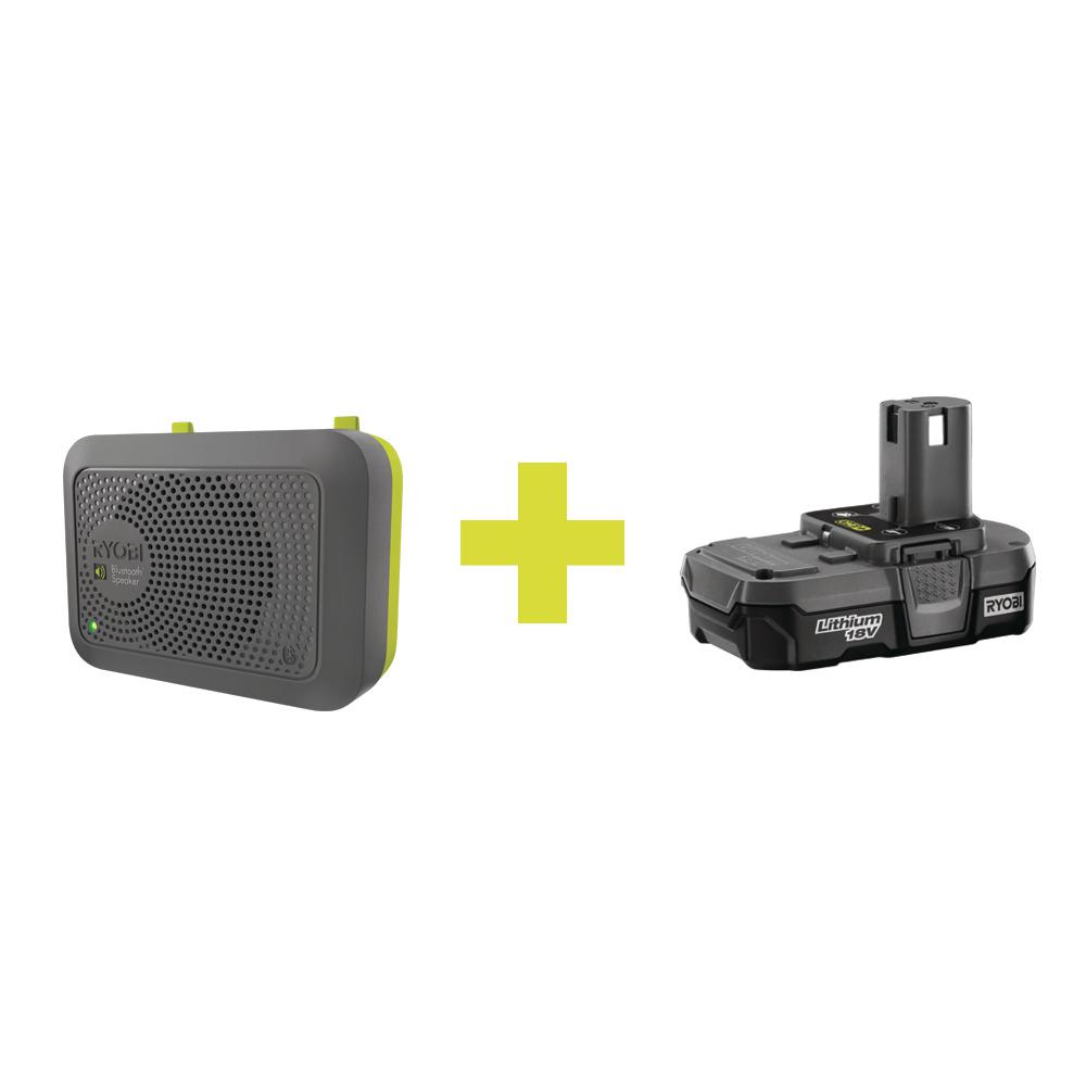 Bluetooth Speaker Accessory with Compact Lithium Battery