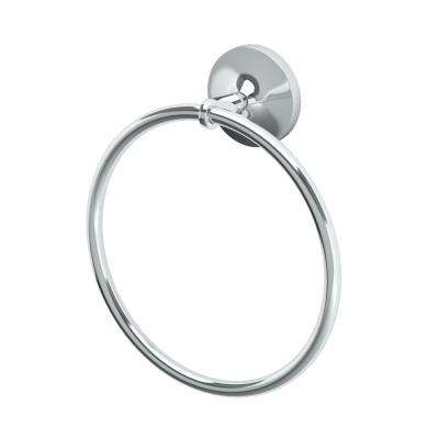 Dove Towel Ring in Chrome
