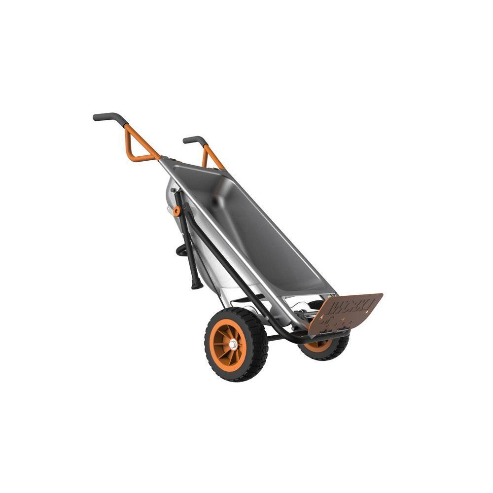 3 cu. ft. AeroCart Wheelbarrow, Dump and Yard Cart in One