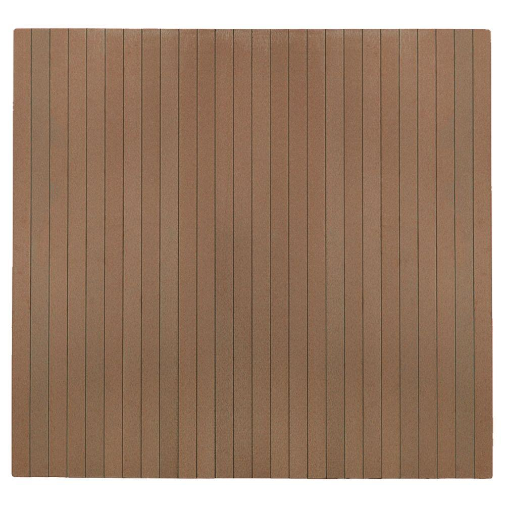 Natural Composite 48 in. x 51 in. Chair Mat with No