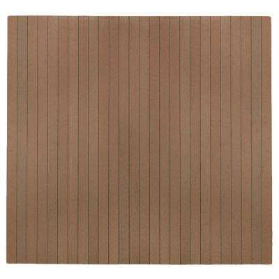 Natural Composite 48 in. x 51 in. Chair Mat with No Lip