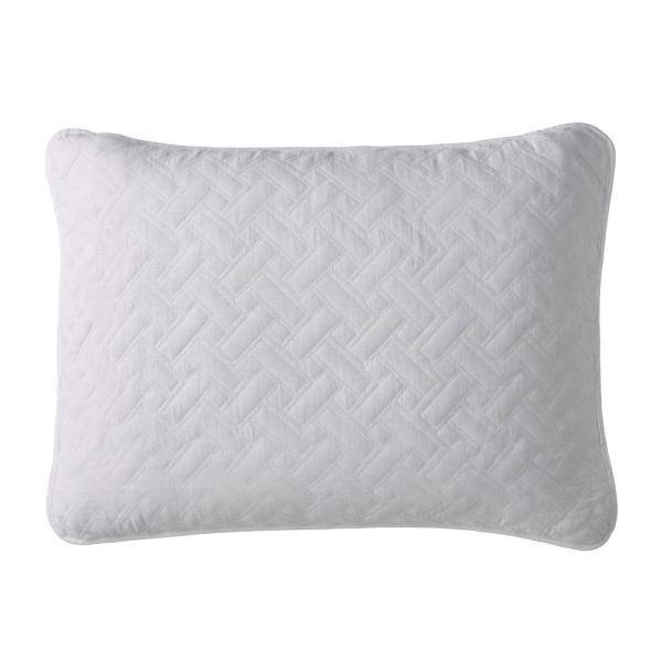 "The Company Store /""Flamingos/"" Quilted Standard Pillow Sham"