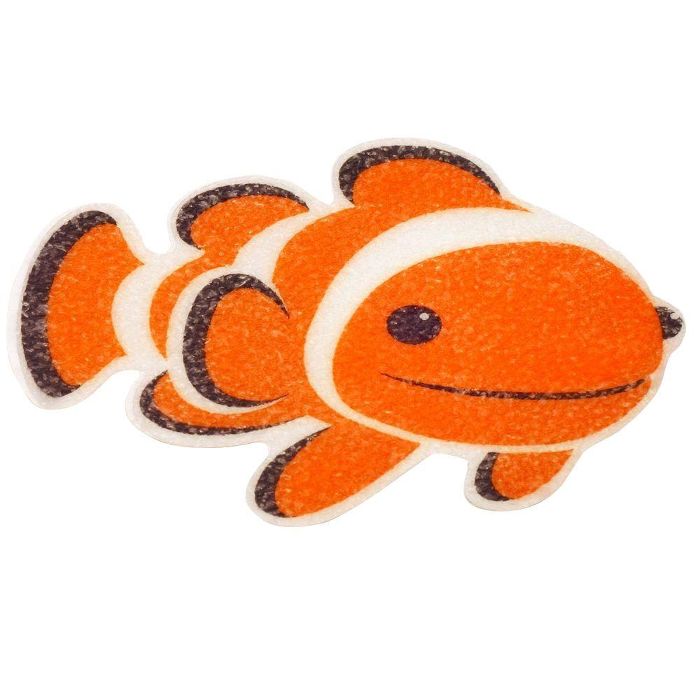 SlipX Solutions Clownfish Tub Tattoos (5-Count)