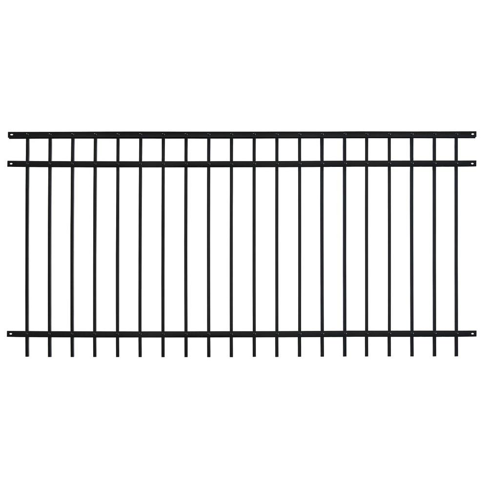 Home Depot Fencing Metal : Home depot aluminum fence fetching panels