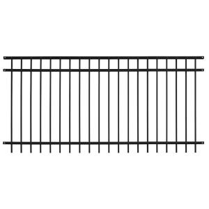 Us Door Amp Fence Pro Series 4 84 Ft H X 7 67 Ft W Black
