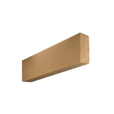 6 in. x 12 in. x 25 in. Polyurethane Wood Grain Texture Rafter Tail