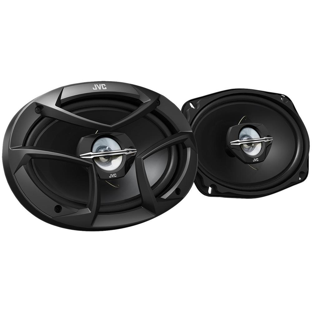 JVC J Series 6 in. x 9 in. 400-Watt Coaxial Speakers