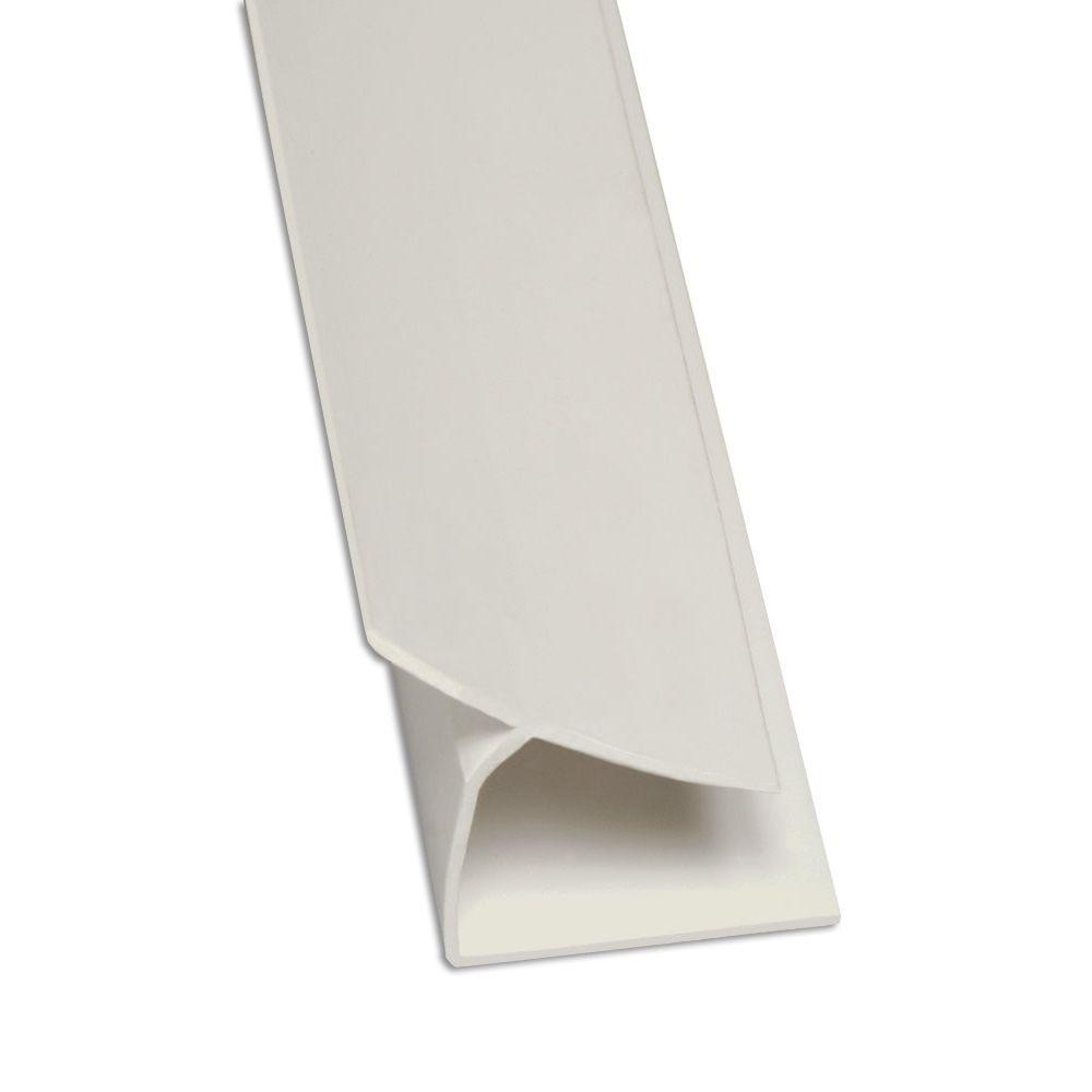 Glasliner 8 ft  FRP Inside Corner Moulding - Gray-9350NL