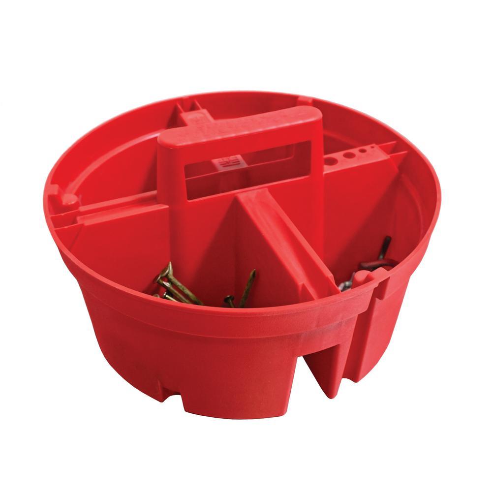 10.5 in 4-Compartment Super Stacker Small Parts Organizer