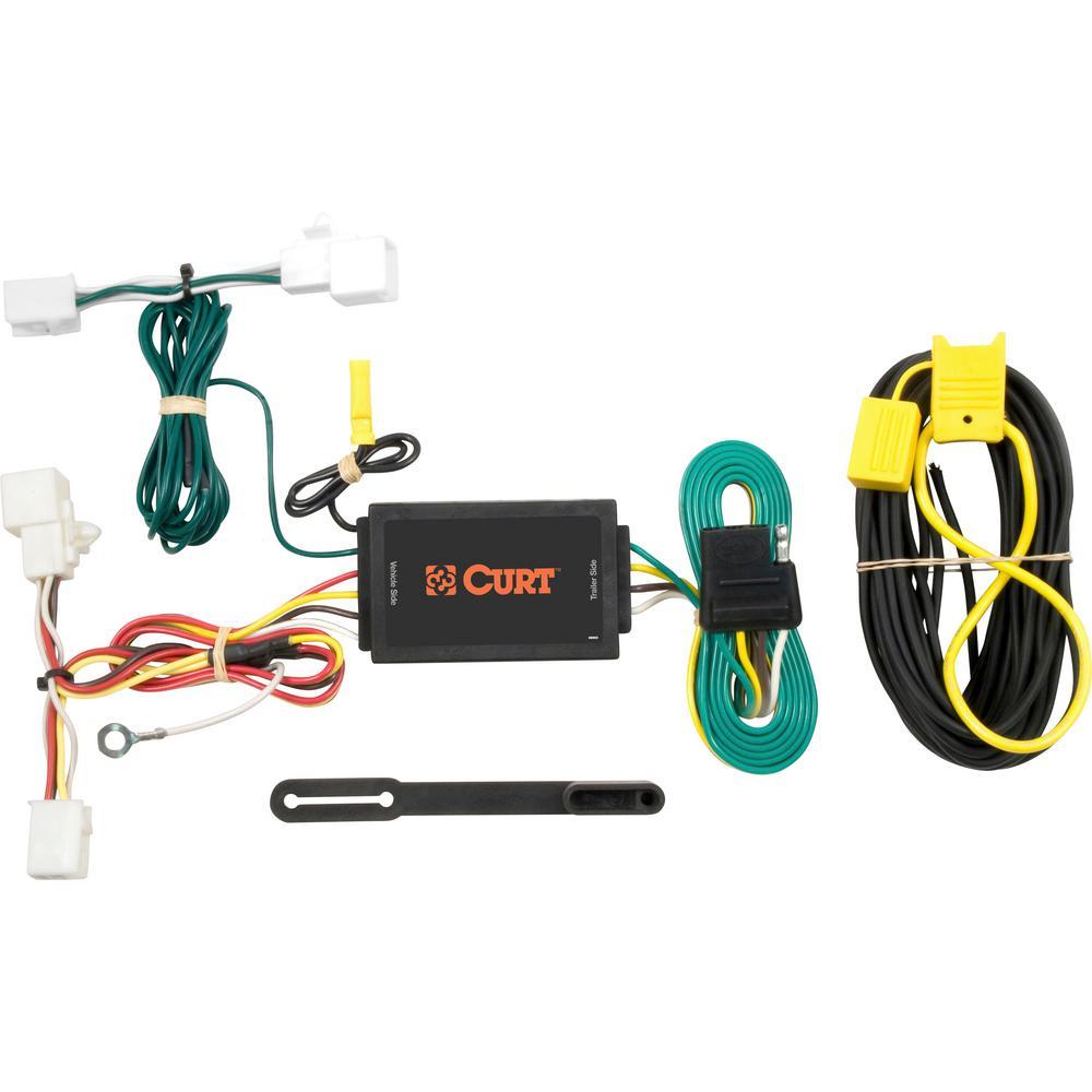 Curt Custom Wiring Harness  4-way Flat Output -56016