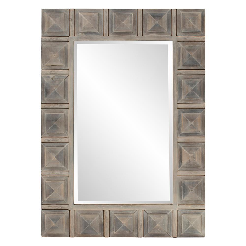 Dakota Wood Decorative Mirror