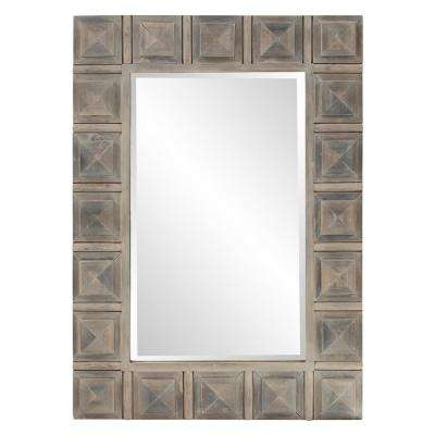 Dakota Wood Decorative Mirror