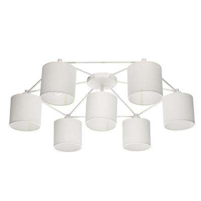 Staiti 7-ight White Ceiling Light