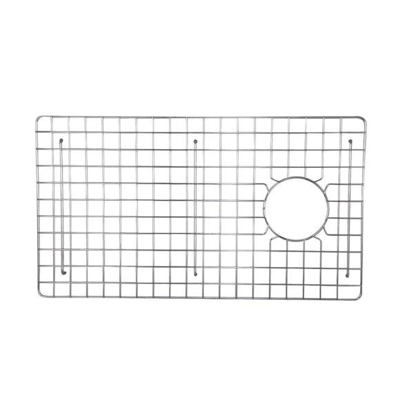 Vigo 17 In X 14 In Kitchen Sink Bottom Grid In Stainless Steel Vgg1417 The Home Depot