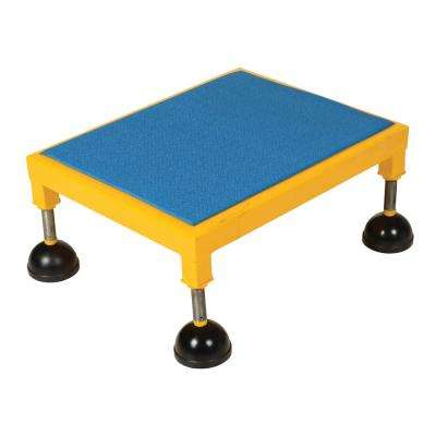 24 in. x 24 in. Portable Adjustable Stand Low Ergo Deck
