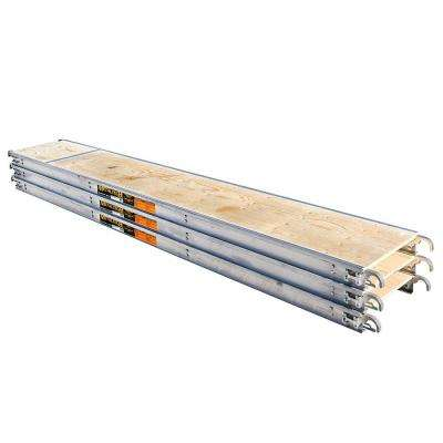 10 ft. x 19 in. Aluminum Scaffold Platform with Plywood Deck (3-Pack)